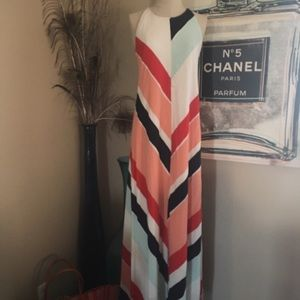 Zara's Colorblock Maxi